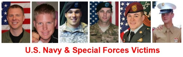 U.S. Navy & Special Forces Victims