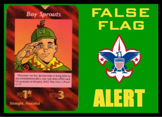 Boy Scout False-Flag