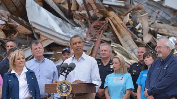 President Obama in Oklahoma