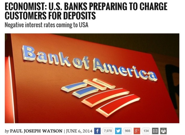 Infowars Bank of America