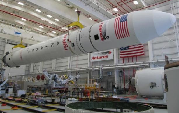 Antares_110_rocket_for_A-ONE_mission