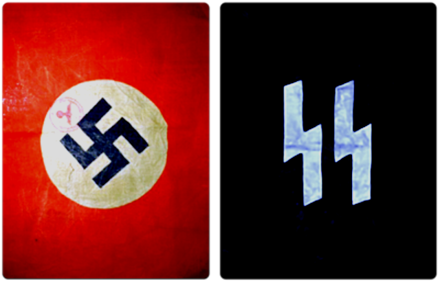Swastika and SS