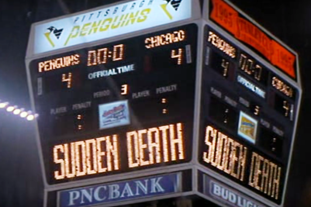 Sudden Death NHL Stanley Cup