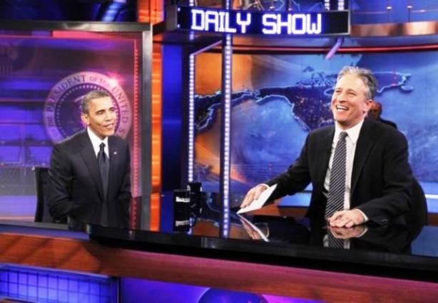 Obama Daily Show Jon Stewart