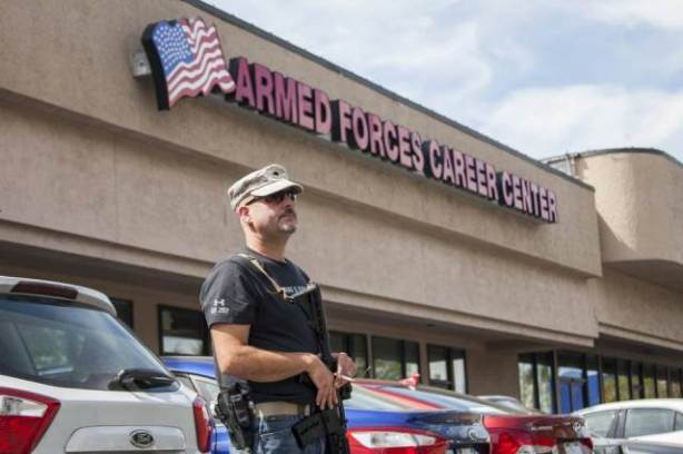 US Military Base Armed Forces Center