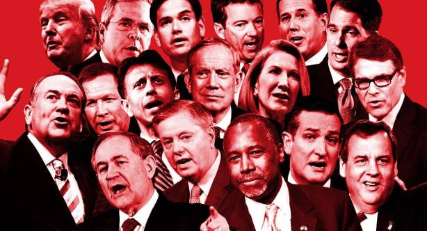 GOP Debate Candiates