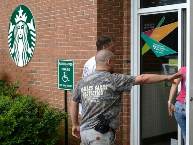 Open-carry-Starbucks