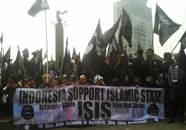 Indonesia Singapore ISIS