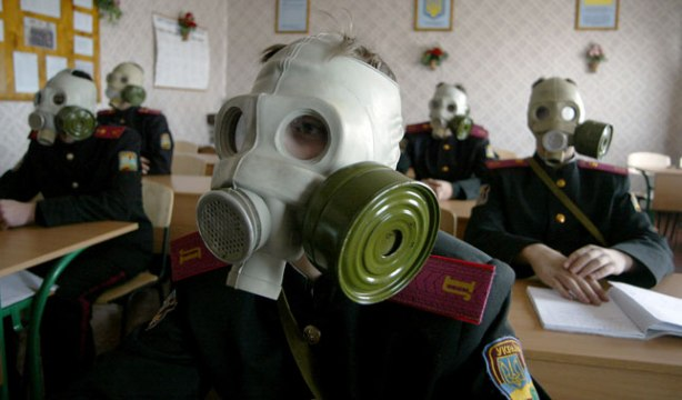 school bio gas mask