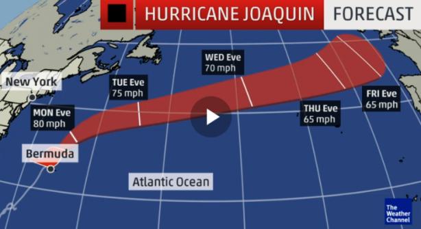 Hurricane Joaquin II