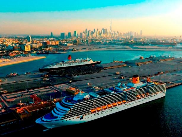 Abu Dhabi Cruise Ship Terminal
