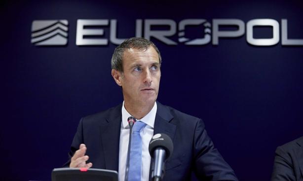 Europol director Rob Wainwright