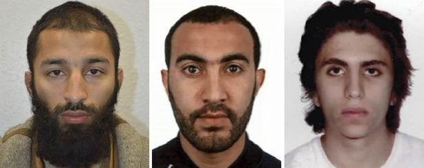 LONDON BRIDGE SUSPECTS