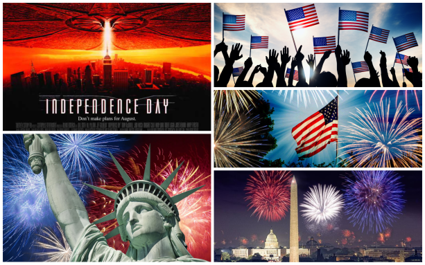 july 4 collage
