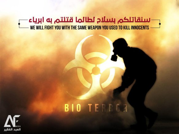 GLOBAL CONTAGION ALERT: CIA PLOTTING MARCH 2019 ISIS BIO