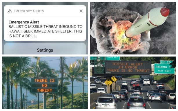 HAWAII MISSILE HOAX