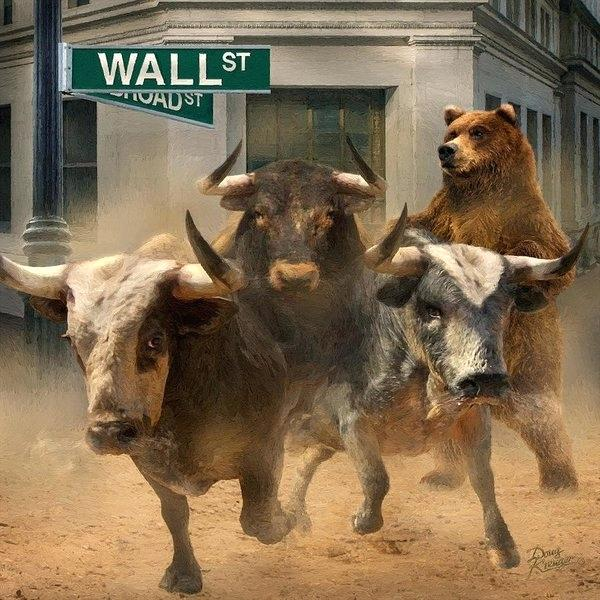 bull-bear-statue-new-york-wall-street-and-markets-poster