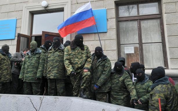 RUSSIAN SPETNAZ hostage