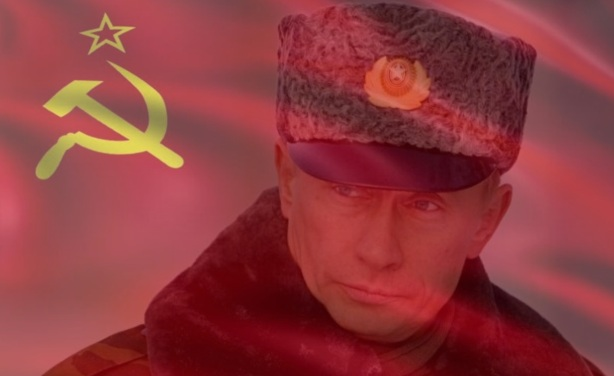 PUTIN HAMMER SICKLE