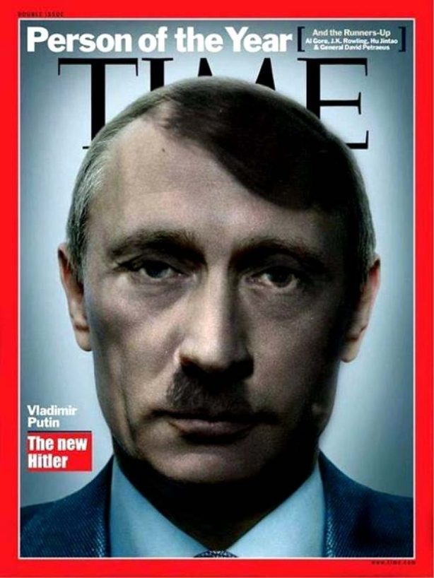 PUTIN TIME COVER hitler