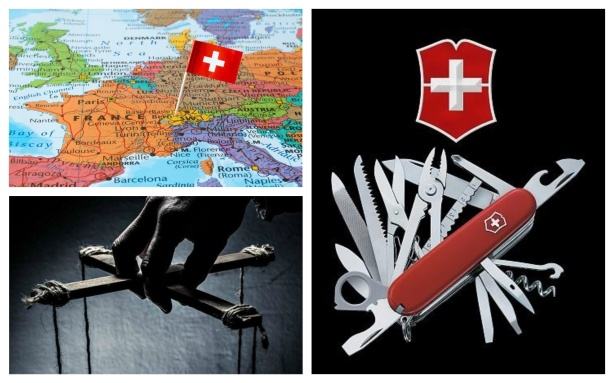 SWISS CIA SWITZERLAND SWISS ARMY KNIFE THEORY