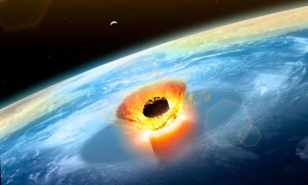 impact event asteroid