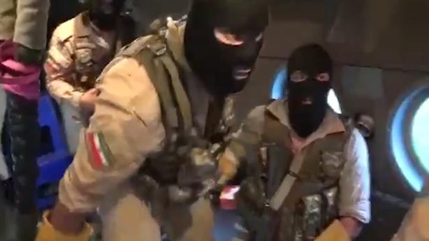 iran hostage storm