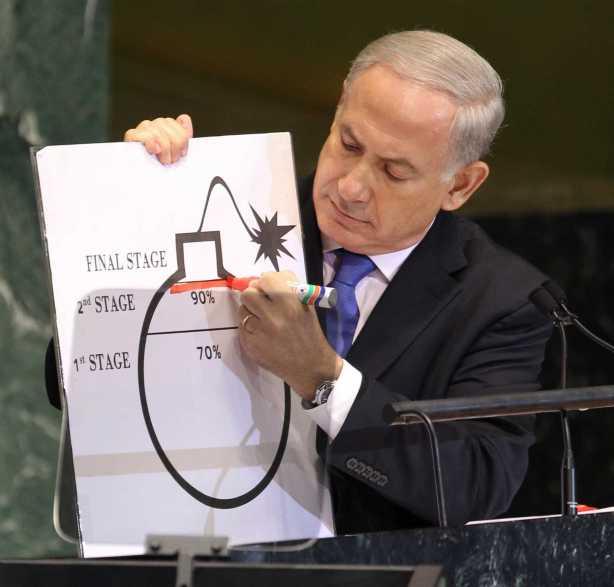Benjamin Netanyahu judas